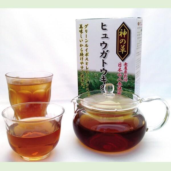 ヒュウガトウキ  ノンカフェイン 日本山人参 神の草 ティーパック 健康茶 無農薬 美味しく飲みやすい健康茶!|ic-shopping|02