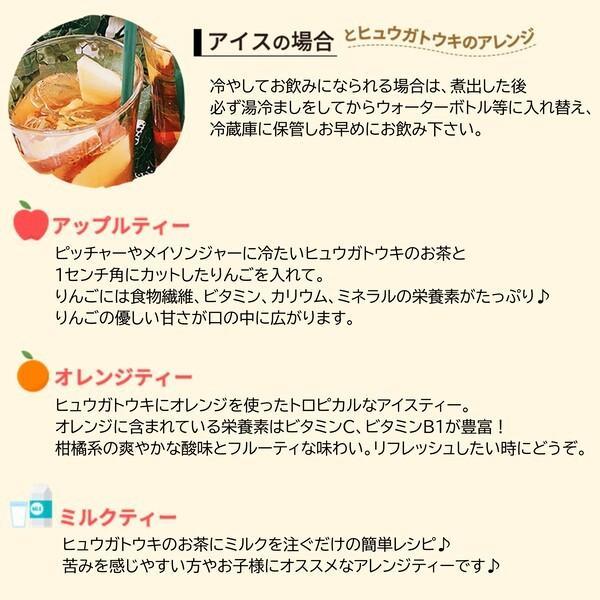 ヒュウガトウキ  ノンカフェイン 日本山人参 神の草 ティーパック 健康茶 無農薬 美味しく飲みやすい健康茶!|ic-shopping|11
