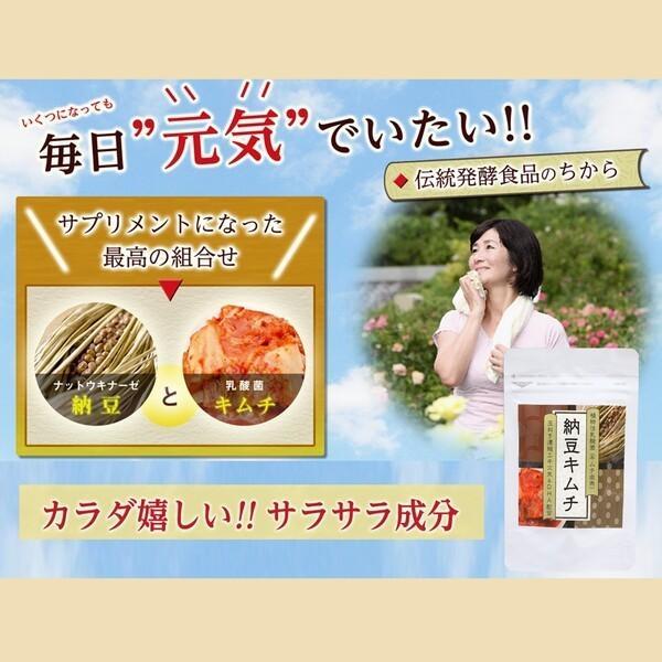 サプリ 納豆 キムチ 発酵 健康食品 サプリメント ナットウキナーゼ タマネギ DHA 乳酸菌 伝統発酵食品サプリメント! ic-shopping 03