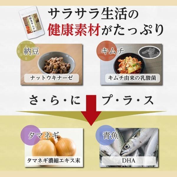 サプリ 納豆 キムチ 発酵 健康食品 サプリメント ナットウキナーゼ タマネギ DHA 乳酸菌 伝統発酵食品サプリメント! ic-shopping 04
