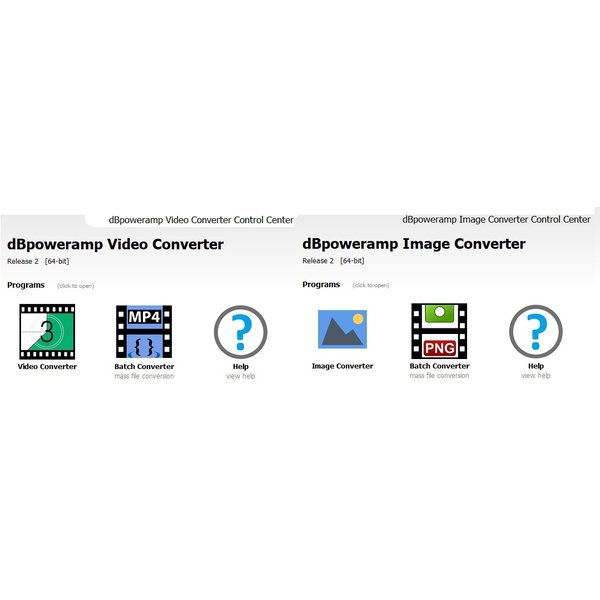 dBpoweramp Video Converter Windows版