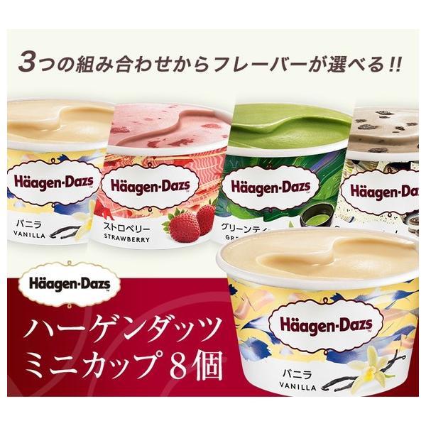 プレゼント 2020 ギフト 食べ物 (選べるセット・ラッピング付き)ハーゲンダッツ ミニカップ 8個|ice-ouan