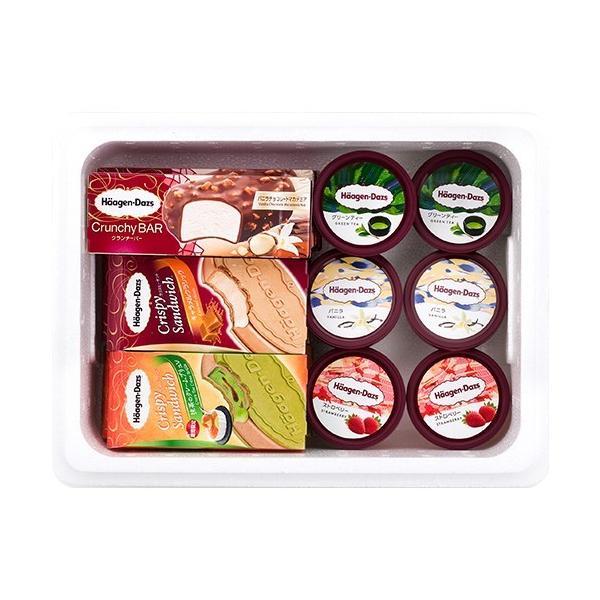 ハーゲンダッツ アイスクリーム SILVERセット(6種・15個入り)(新パッケージ)(ラッピング付)(送料込)  ギフト アイス|ice-ouan|02