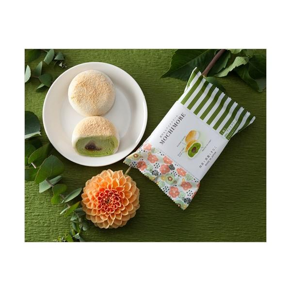 MOCHI MORE 抹茶と黒蜜ときなこ(和と洋の素材をミックスした創作もちアイス)|ice-ouan|02