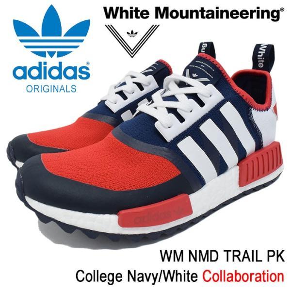 hot sale online 89c83 0d090 アディダス オリジナルス×White Mountaineering adidas Originals スニーカー メンズ WM ノマド トレイル PK  College Navy/White(BA7519)