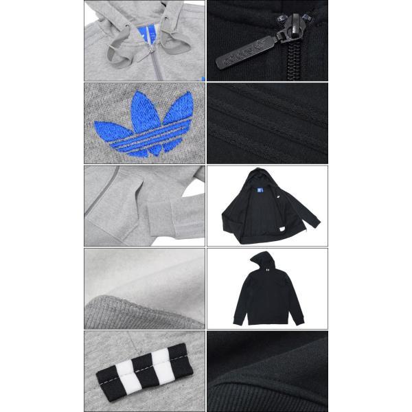 アディダス adidas パーカー ジップアップ メンズ クラッシック トレフォイル オリジナルス(Classic Trefoil Hoodie 男性用 AJ7698 AJ7700)|icefield|03