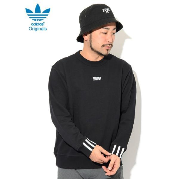 アディダス トレーナー adidas メンズ RYV A クルー スウェット オリジナルス ( RYV A Crew Sweat Originals トップス 男性用 FM2262 )|icefield|03