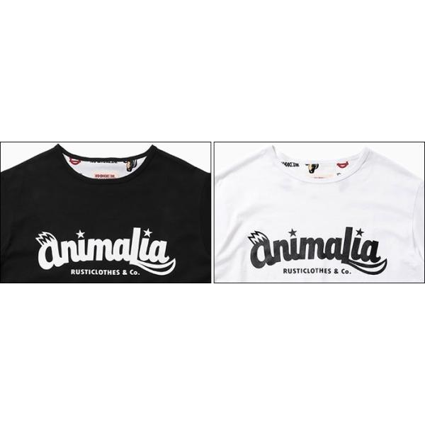 アニマリア Tシャツ 半袖 ANIMALIA メンズ Kskun ロゴ(animalia Kskun Logo S/S Tee カットソー トップス AN18U-CS04)|icefield|03