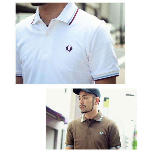 フレッドペリー ポロシャツ 英国製 半袖 FRED PERRY メンズ M12N イングランド フレッド ペリー ポロ 男性用(イギリス製 鹿の子 Polo)|icefield|05