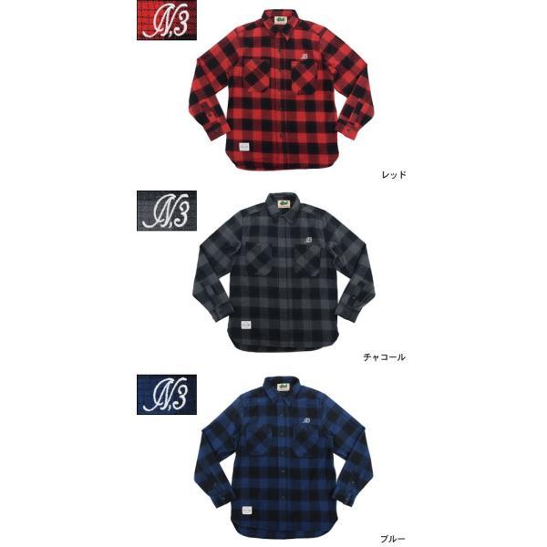 エイチティエムエル ゼロスリー HTML ZERO3 シャツ 長袖 メンズ ナーブ チェック(html zero3 Nerve Check L/S Shirt ネルシャツ トップス)|icefield|02