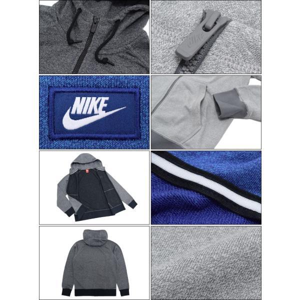 ナイキ NIKE パーカー ジップアップ メンズ AW77 シュー ボックス フル ジップ フーディ(AW77 Shoe Box Full Zip Hoodie 男性用 727396)|icefield|03