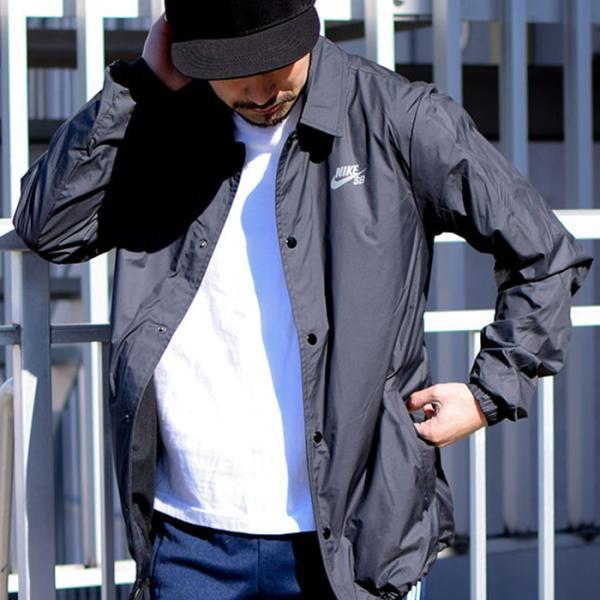 ナイキ ジャケット NIKE メンズ SB USA アイコン コーチジャケット SB(nike SB USA Icon Coaches JKT ナイロンジャケット アウター 829509)