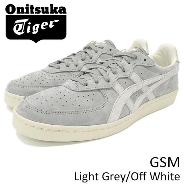 free shipping 1cee2 f89f7 オニツカタイガー スニーカー Onitsuka Tiger メンズ 男性用 ジーエスエム Light Grey/Off White(GSM グレー  D5K1L-1399 TH5K1L-1399)