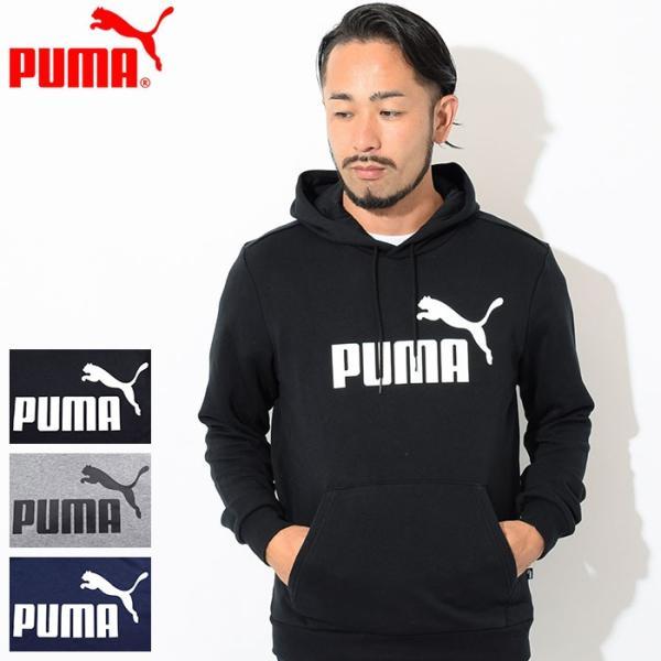 プーマ プルオーバー パーカー PUMA メンズ ESS ビッグ ロゴ(PUMA ESS Big Logo Pullover Hoodie スウェット トップス 男性用 851745)|icefield