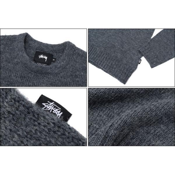 ステューシー STUSSY セーター メンズ Solid Mohair(stussy sweater ニット クルーネック トップス メンズ・男性用 117031)|icefield|03