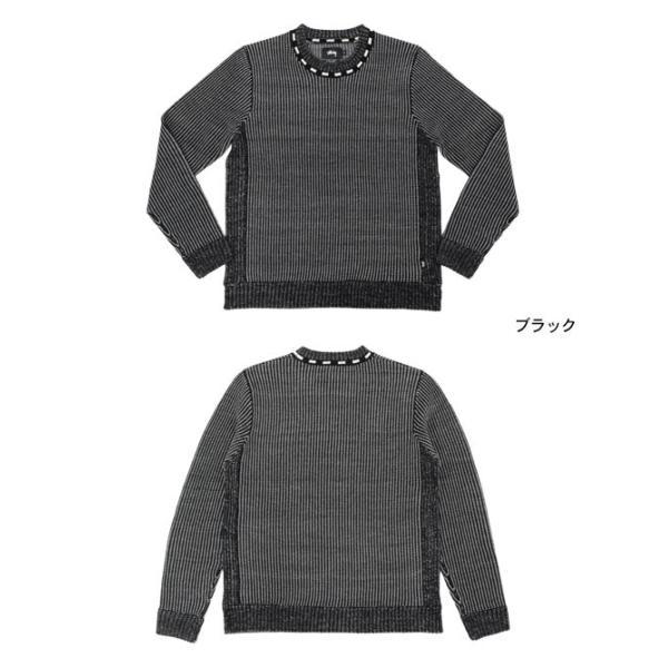 ステューシー STUSSY セーター メンズ Vertical Stripe Crew(stussy sweater ニット クルーネック トップス メンズ・男性用 117036)|icefield|02