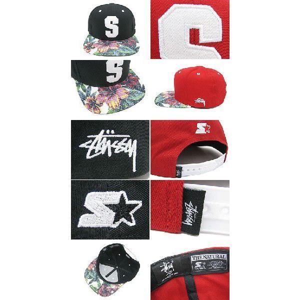 1d0cf988945 ... ステューシー STUSSY×STARTER キャップ Athletic Mesh Brim Snapback キャップ コラボ(stussy  cap 帽子 メンズ