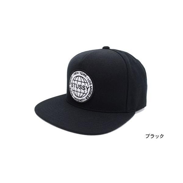 ステューシー STUSSY キャップ 帽子 Stussy Globe Snapback Cap(スナップバック メンズ・男性用 131500)|icefield|02