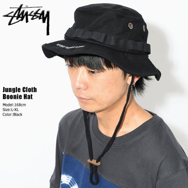 3980e828b9f ステューシー STUSSY ハット Jungle Cloth Boonie Hat 帽子(stussyhat ブーニーハット バケットハット  メンズ・男性 ...