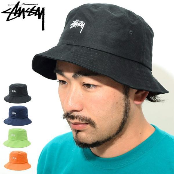 5308a731 ステューシー バケット ハット STUSSY SP19 Stock Bucket Hat 帽子(stussyhat メンズ・男性用 132917 ...