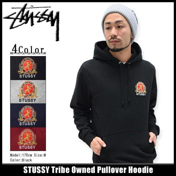 ステューシー STUSSY プルオーバー パーカー メンズ Tribe Owned(stussy Pullover Hoodie トップス 男性用 1923708)|icefield