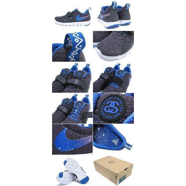 ステューシー STUSSY×NIKE SB トレーナーエンドー Black/Blue コラボ メンズ(stussy×nike SB TRAINERENDOR ナイキ Wネーム 634928-560)|icefield|03