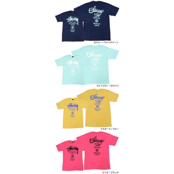 ステューシー STUSSY Tシャツ メンズ ワールドツアー 1903688 1903753 1903817|icefield|03