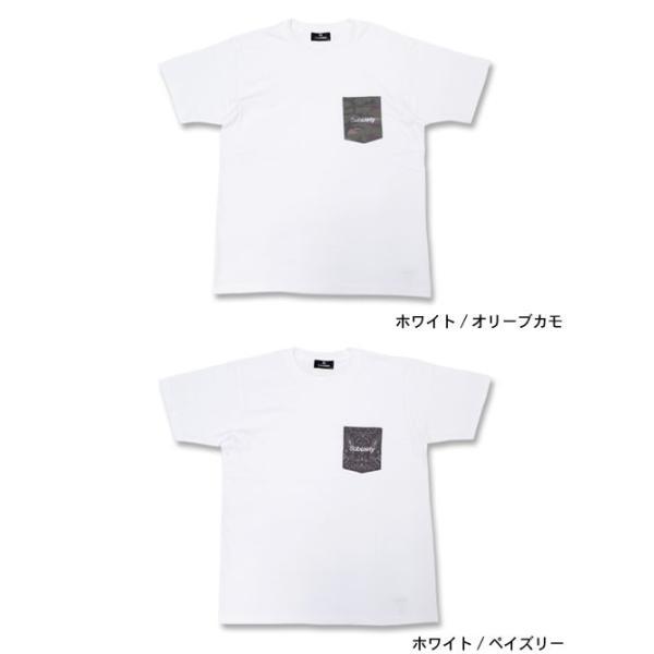 サブサエティ Subciety Tシャツ 半袖 メンズ パターンド ポケット(subciety サブサエティー Patterned Pocket S/S Tee トップス)|icefield|02