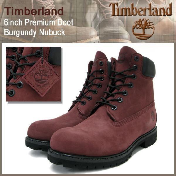 ティンバーランド Timberland ブーツ 6インチ プレミアム バーガンディーヌバック ブーツ メンズ(timberland 6126R 6inch Premium Boot BOOTS 靴)|icefield