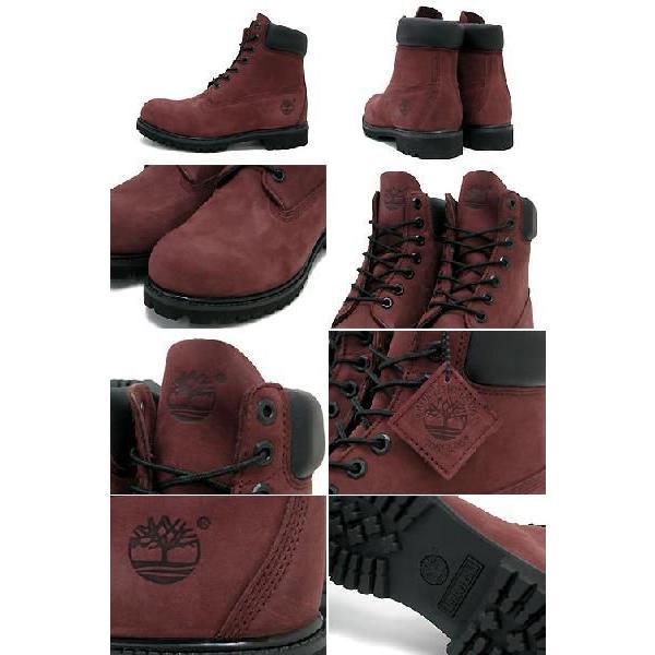 ティンバーランド Timberland ブーツ 6インチ プレミアム バーガンディーヌバック ブーツ メンズ(timberland 6126R 6inch Premium Boot BOOTS 靴)|icefield|02