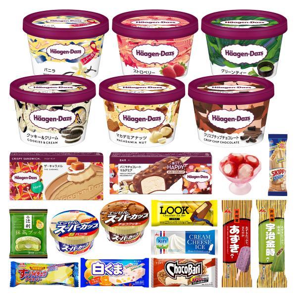 お中元 福袋 アイスクリーム 13個の詰め合わせ セット(ハーゲンダッツ  ミニカップ 2個入り) 送料無料 ギフト FB-13|iceselection