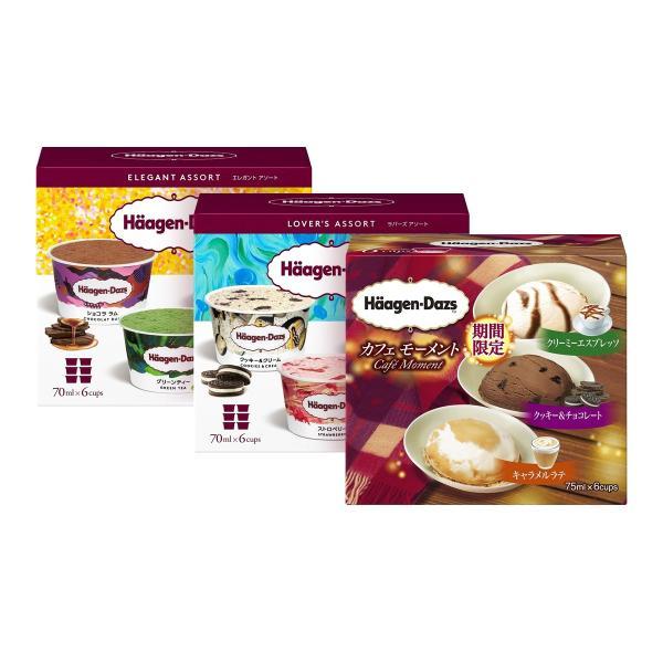 バラエティボックス ハーゲンダッツ マルチパック  4号ホールケーキ(冷凍)アイスクリーム 21個の詰め合わせ セット 送料無料 ギフト FB-22|iceselection|02