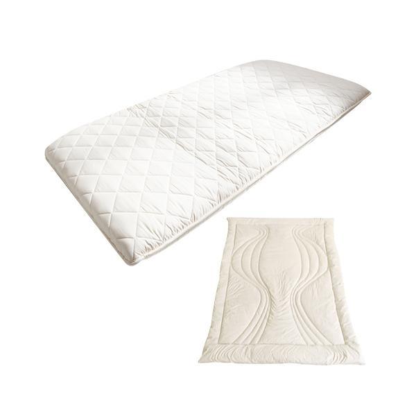 <雲のやすらぎシングル 陽だまりの休息セット>敷布団 敷き布団 腰痛対策 肩こり 体圧分散マットレス 送料無料|ichibanboshi
