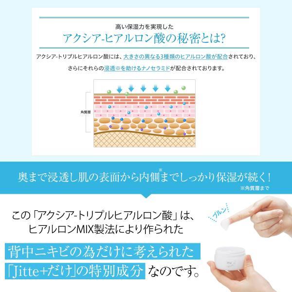 Jitte+(ジッテプラス)ニキビケア スキンケア 背中ニキビ 大人ニキビ ニキビ跡 ニキビ後 にきび お尻ニキビ ヒアルロン酸 無添加 あすつく|ichibanboshi|10