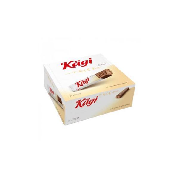 Kagi(カーギ) チョコウエハース ミルクバー 25g×24本(同梱・代引き不可)