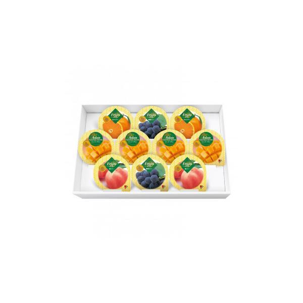金澤兼六製菓 詰め合せ マンゴープリン&フルーツゼリーギフト 10個入×12セット MF-10(同梱・代引き不可)