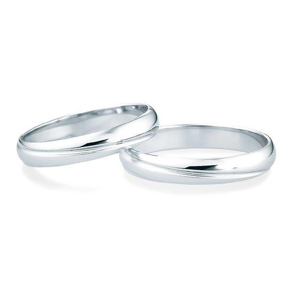 プラチナリング Pt900 6〜23号 ペアリング 結婚指輪 マリッジリング イニシャル刻印 代引不可|ichibankanshop|02