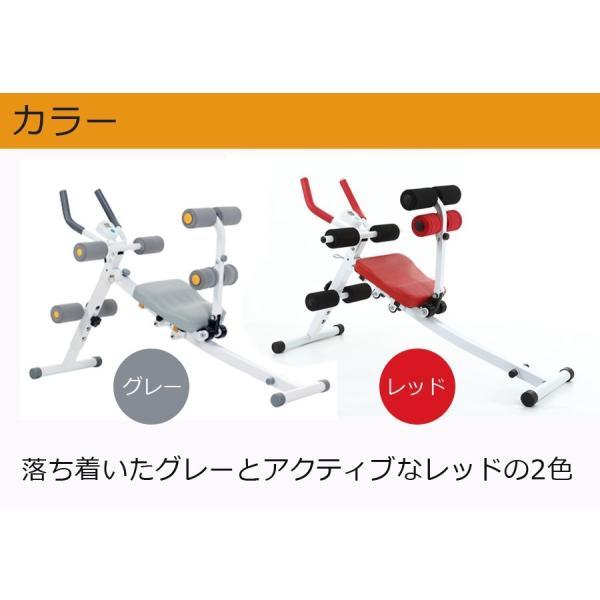 腹筋 トレーニング 器具 エクササイズ ダイエット 筋トレ 器具 家庭用 二の腕 ながら運動 スライド式 自宅用 シットアップマシン|ichibankanshop|10