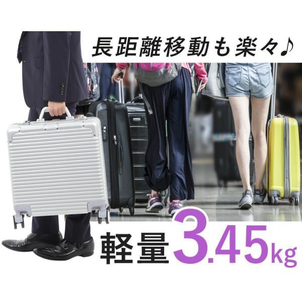 スーツケース 機内持ち込み Sサイズ 1〜3泊 28L アルミフレーム TSAロック ダイヤルロック ダブルロック 4輪 フレームタイプ 丈夫 SR-BLT816|ichibankanshop|09
