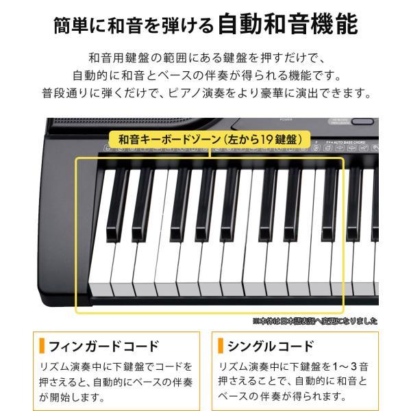 電子キーボード 電子ピアノ プレイタッチ 持ち歩き 電池対応 インサイト61 61鍵盤 電子楽器 入門用 デモ曲 ヘッドホン マイク対応 Sunruck サンルック SR-DP06|ichibankanshop|12