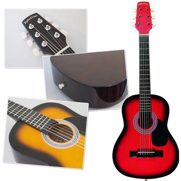 ミニアコースティックギター かわいいアコギ SepiaCrue W-50/RDS レッドサンバースト 同梱/代引不可 同梱不可 送料無料|ichibankanshop