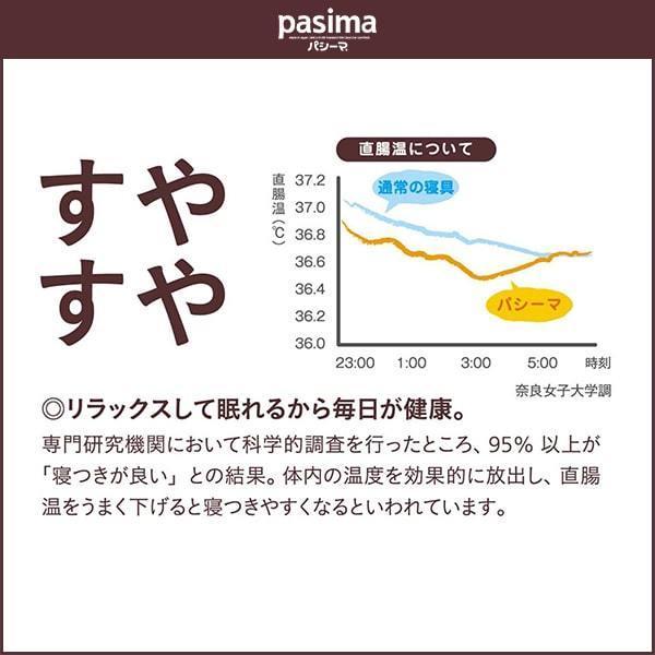 パシーマ パットシーツ(敷きパッド・旧名サニセーフ)キング 198×210cm 龍宮正規品|ichida-kyoto|10