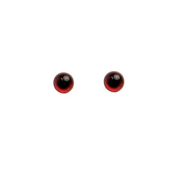 クリスタルアイ レッド 4.5mm  (30個入り) ichifuji-store
