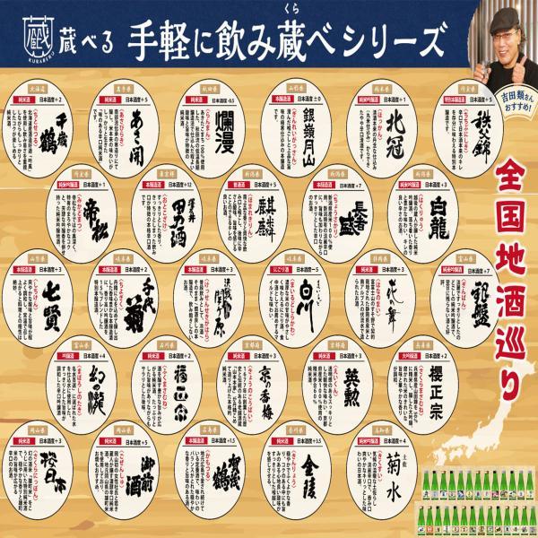 日本酒 飲み比べ 22種から選べる5本セット ギフト|ichigou-sake|03