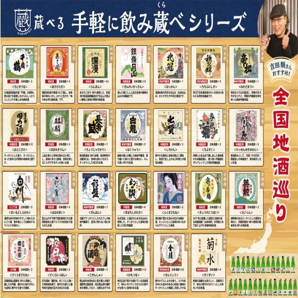 日本酒 飲み比べ 22種から選べる5本セット ギフト|ichigou-sake|05