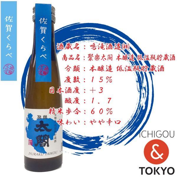 日本酒 聚楽太閤 本醸造 低温瓶貯蔵酒 180ml|ichigou-sake|02