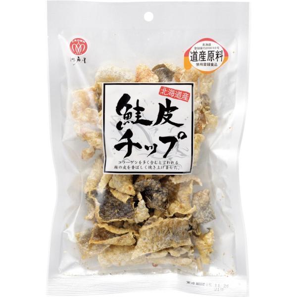 北海道産 江戸屋 鮭皮チップ 31g|ichigou-sake