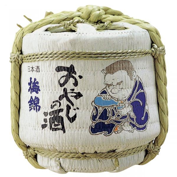 日本酒 梅錦 ミニ樽 豆樽 菰樽 300ml|ichigou-sake