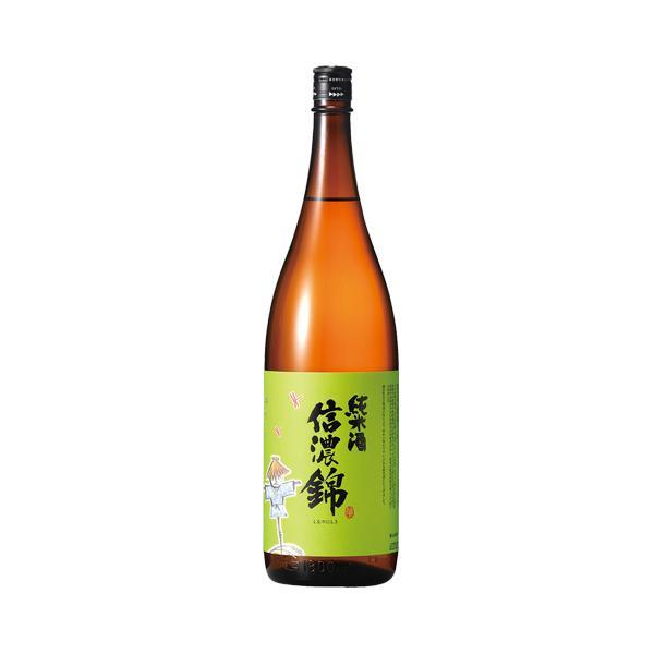 【宮島酒店】信濃錦 純米酒 かかし 1800ml 長野の地酒 ギフト プレゼント(4901411020358)