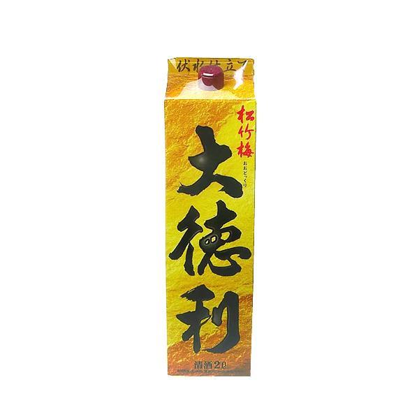 【宝酒造】松竹梅「大徳利」 紙パック 2000ml【12個まで1個口配送可能】 (※お取り寄せ商品の為、入荷に時間がかかります。TY)|ichiishop
